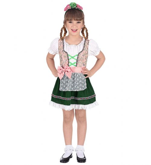 Childrens Bavarian Costume Oktoberfest Fancy Dress